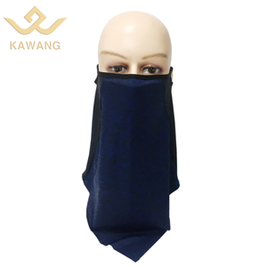 Custom anti dust face cover bandana neck gaiter stretch bandana tube triangle bandana