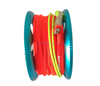 30m/100ft Aluminum Mini Scuba Diving Finger Reel Spool with SS 316 bolt snap