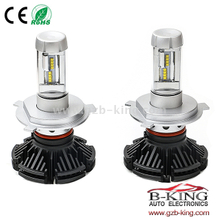 Slim 6000lm 7S ZES Chip Car LED Headlight Bulb 3000K 6500K 8000K