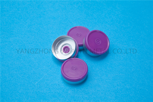 20mm Flip off cap(with two ring)