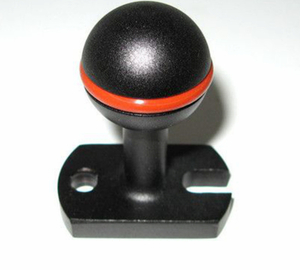 25mm (1 inch) base ball connector for trays