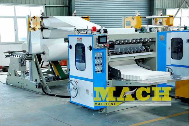 CE Certificated Automatic BoxBag Drawing Type Facial Tissue Paper Making Machine (2)