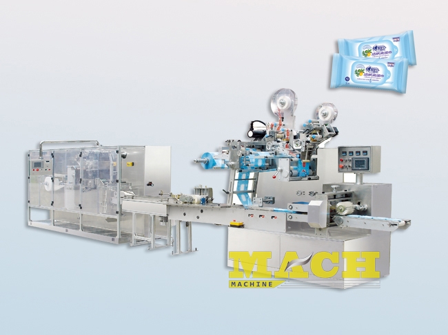 5-20 Sheets per Bag Wet Tissue Making and Packing Machine