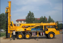 QY10K2 pile-drive hoisting dual purpose machine from Crystal