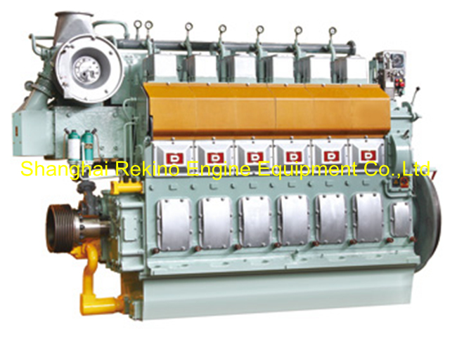 510-1500HP Ningbo CSI Ningdong medium speed marine diesel engine (N6210)