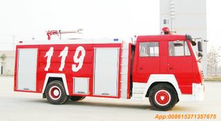 Sino Steyr king 4x2 Fire Trucks 8T water Foam <Customization LHD RHD>