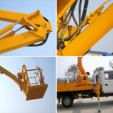 Bucket Truck aerial platform truck 14`18M Customization hot sale list