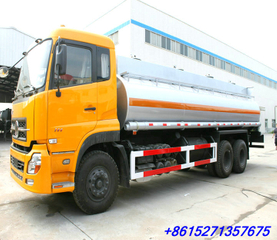 Dongfeng DFL 6x4 Stainless Steel liquid rubber milk tanker