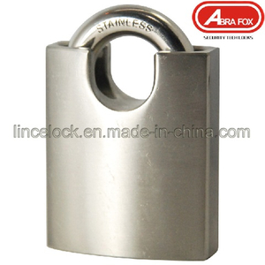Stainless Steel Padlock with Shrouded Shackle (202)