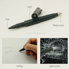 Multi-function Aluminium Self Defence Tactical Pen with LED Flashlight