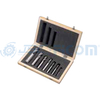 7 pcs. HSS-cobalt roughing end mill set