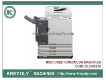Used RISOs ComColor 9150 ORPHIS EX9050 Inkjet Printer High Speed