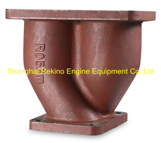 N.10.011 Joint pipe Ningdong engine parts for N160 N6160 N8160