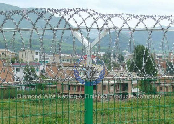 Razor Wire Fence