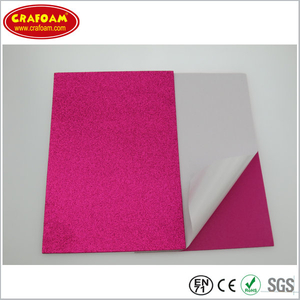 Self Adhesive Glitter EVA Foam Sheets