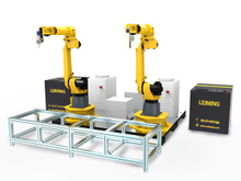 3D robot laser cutting and welding workstation