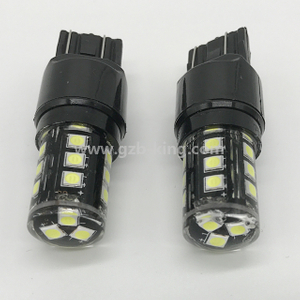 Big sale T20 W21/5W 7443 18W 18SMD 400lm 3030SMD car brake light