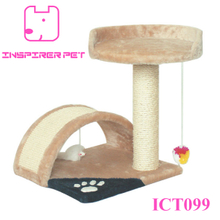 Cat Post Tree Scratcher Furniture Play House Pet Bed Kitten Toy