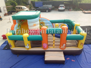 RB3056( 5x6m ) Inflatables Small Farm Theme Bounce Combo/Castle For Sale