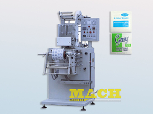 200-300 Bags/min Double Lanes Alcohol Swab Prep Pad Making and Packing Machine