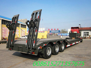 65T~80T Lowboy trailer Customization