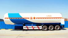 Cryogenic Liquid Tanker Trailer 50.8M³
