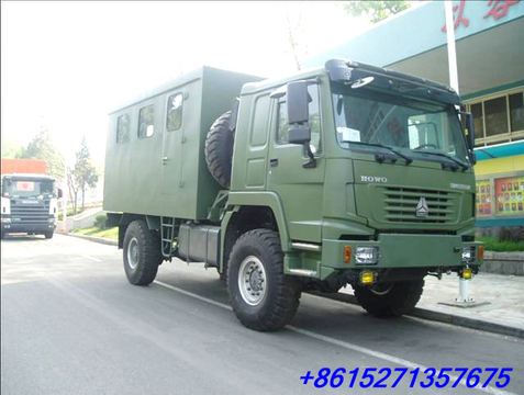 HOWO Mobile Workshop Truck to Ghana price