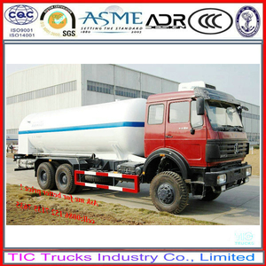 North Benz gas transportation truck LPG Bobtail tanker