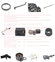 Foton Ollin engine 493 parts price list 2