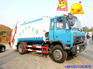 Dongfeng EQ 8~10M3 Trash Garbage Compactor Truck