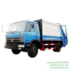 8m3 Dongfeng 4x2 compactor waste truck Euro 4/5