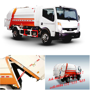 NISSAN 4x2 refuse 5-6m3 Compactor Garbage Truck