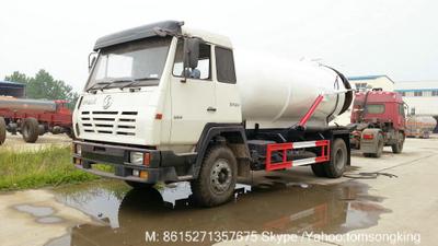 Steyr 4x2 /4x4 270HP~380HP septik truck  sewage tanker  6~12cbm <LHD RHD>