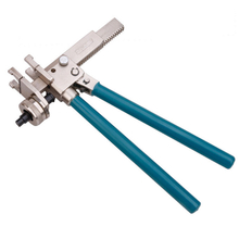 Pipe plumbing tools for crimping and expanding