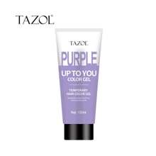 Tazol temporary hair color gel purple