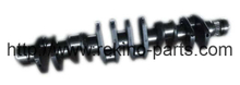 61560020029 forged steel crankshaft assembly for Weichai Sinotruk WD615