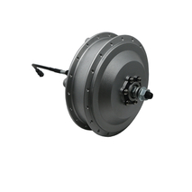 BRUSHLESS GEAR HIGH-SPEED HUB FRONT V/DISC-BRAKE 500QW MOTOR