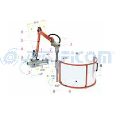 Adjustable safety guard PFR 01