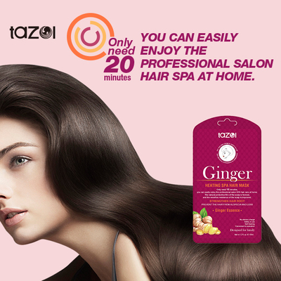 Ginger Repairing & Smoothing Heating SPA Hair Mask