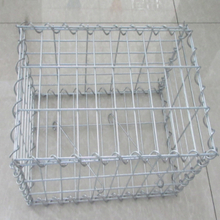 Used hot dipped galvanized welded gabion box for home garden