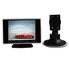4.0 inch car rear view monitor with suck-in base
