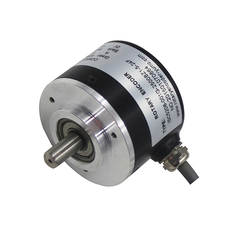 YMP5208 52mm 8mm Solid Shaft Incremental Rotary Encoder