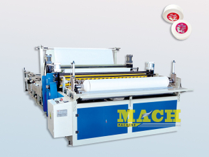 Office Small Size Jumbo Toilet Tissue Paper Roll Slitting and Rewinding Machine