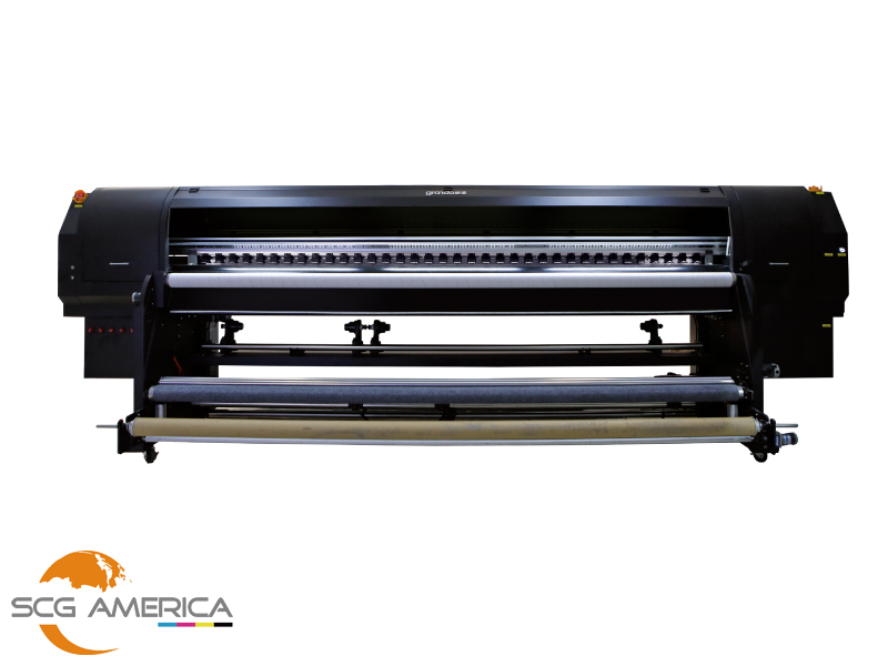 GRANDO 3 2m uv roll to roll printer with 4 ricoh Gen5