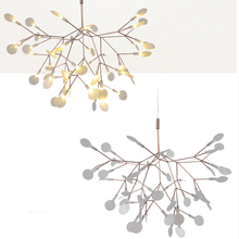 Modern Moooi Heracleum Chandelier LED Copper Leaf Pendant Light (20186)