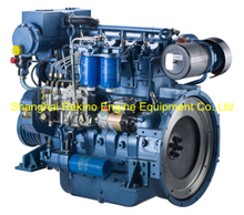 120HP 1800RPM Weichai Deutz marine propulsion diesel boat engine (WP4C120-18)