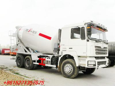 SHACMAN F3000 8~12m3 Transit Mixers concrete mixer truck