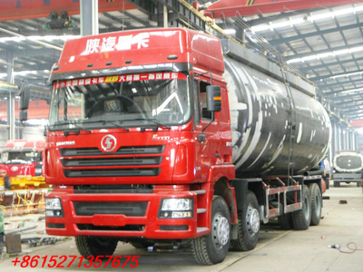SHACMAN 8x4 Bulk cement tanker truck 40~47 cbm
