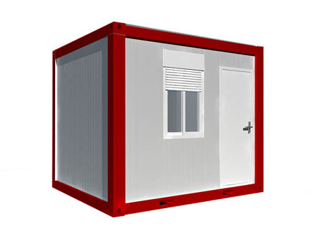 PTJ-8*10FT C Container House