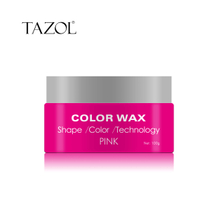 Tazol Temporary Hair Color Wax with Pink Color 100g